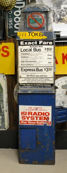 Bus Token Machine from Basement Clean Up in NY City
