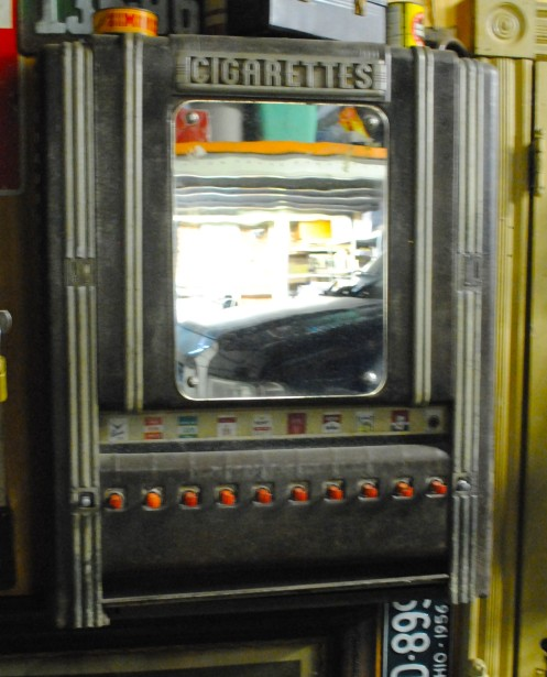 1950s Cigarette Vending Machine Found In Full House Clean