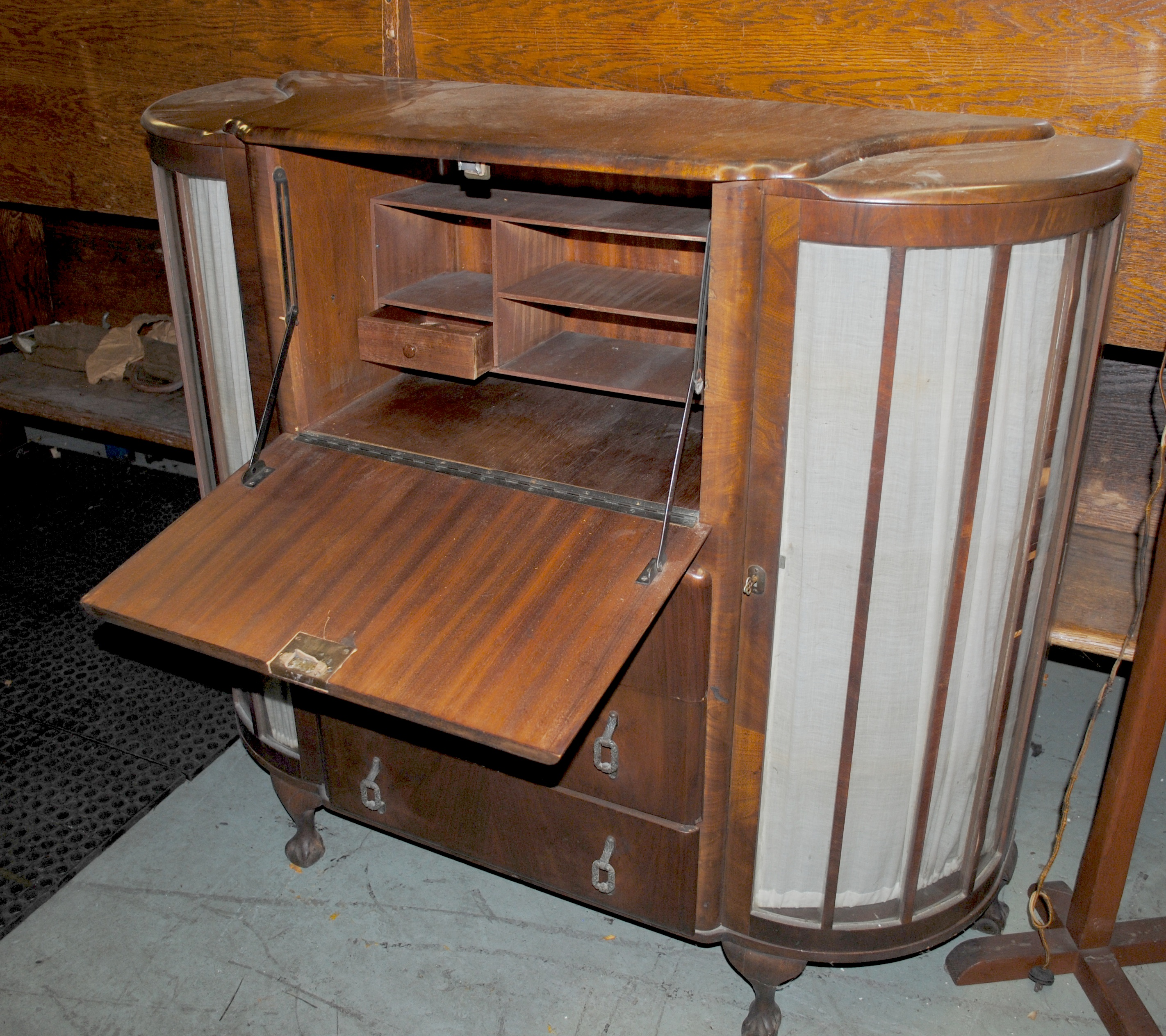 Queens garbage company finds vintage art deco-style dresser in ...