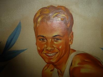 Lon Keller painting